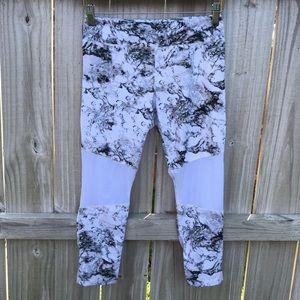 Varley - Marble Print Crop Leggings